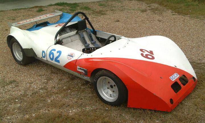Texas Rattler Race Car